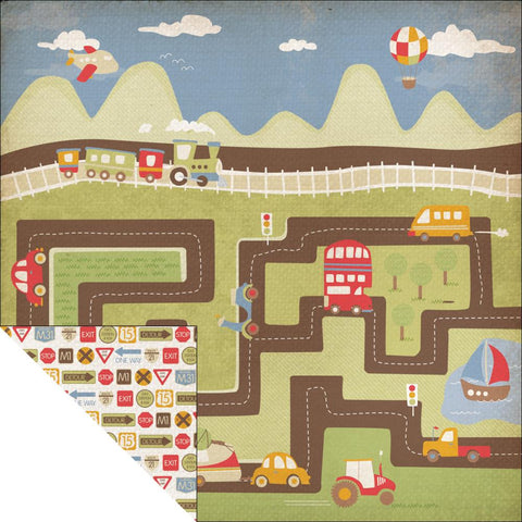 KAISERCRAFT-Little toot Double sided paper - Honk