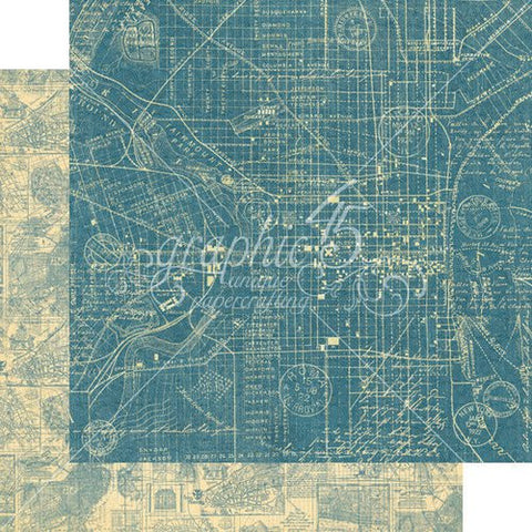 Graphic45  CityScape - Map the past paper