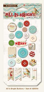 My Mind's Eye Winter Wonderland Collection - Buttons