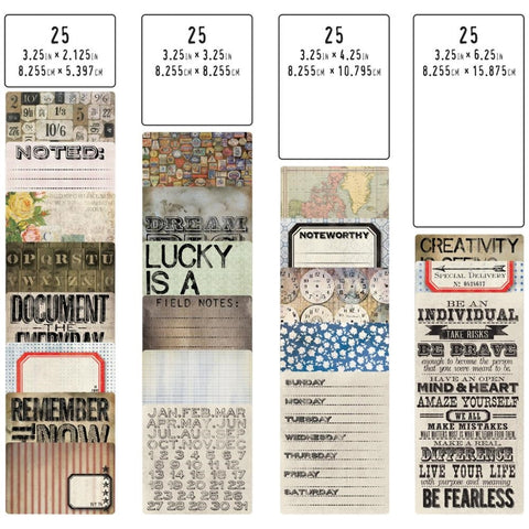 Tim Holtz Idea-ology FLIP FRAME pocket cards
