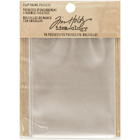Tim Holtz Idea-ology FLIP FRAME pockets