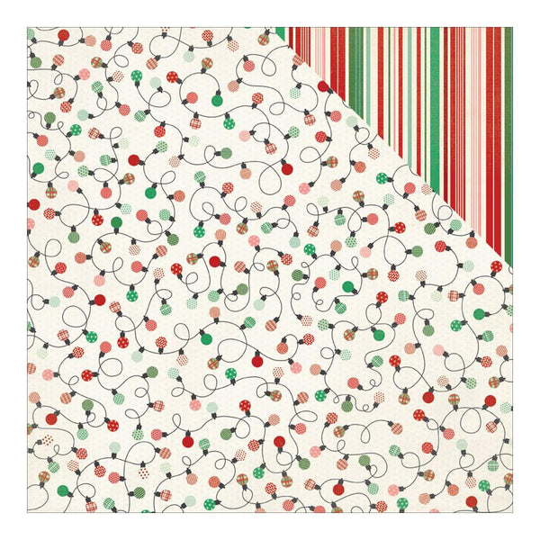 Authentique - Retro Christmas Double-Sided Paper Three