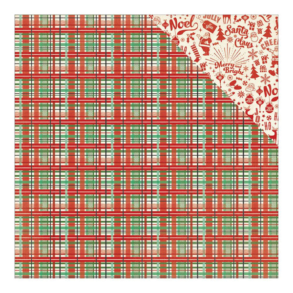Authentique - Retro Christmas Double-Sided Paper Two