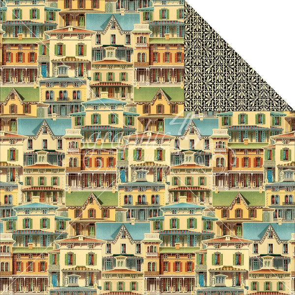 Graphic 45 Artisan Collection -This Old House paper