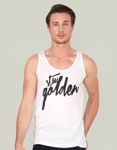 TANK TOP - STAY GOLDEN