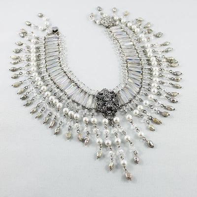 Handmade Beaded Bridal Choker