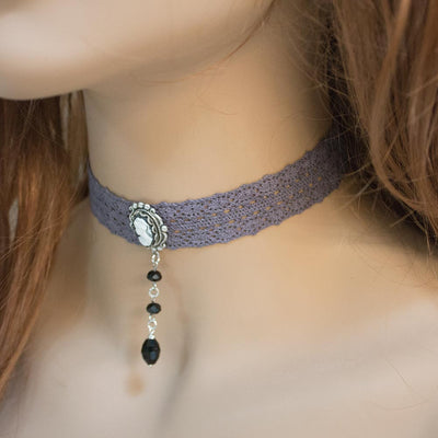 Cameo Choker Necklace
