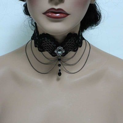 Gothic Victorian Choker Necklace