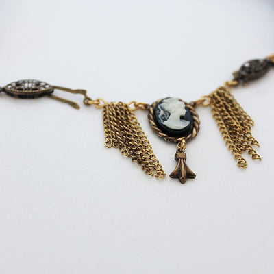 Victorian Style Cameo Choker