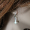 Pearl Crystal Dangle Earrings