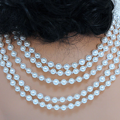 Pearl Bridal Statement Necklace