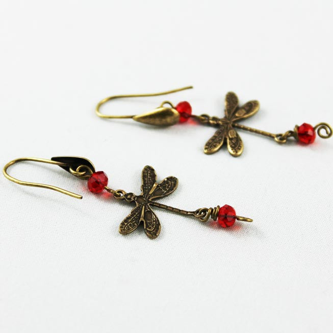 Whimsical Dragonfly Earrings