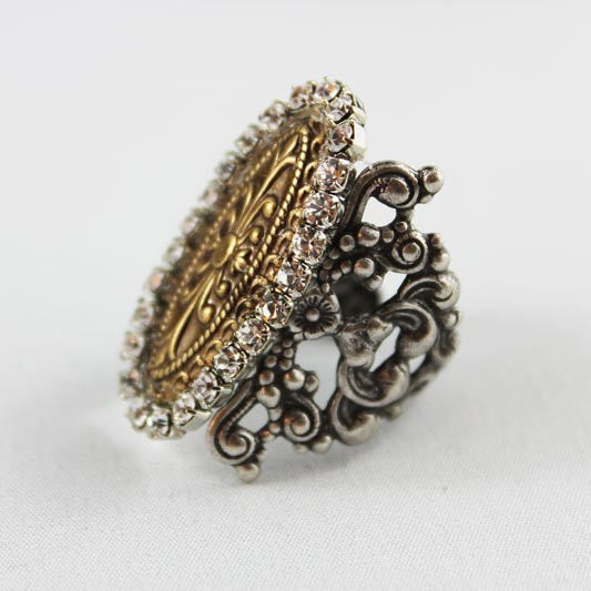 Silver Cocktail Ring