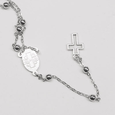 back side of chain rosary