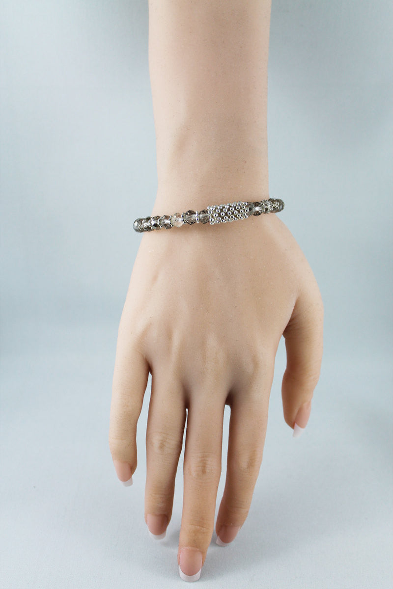 Crystal Bead Bangle