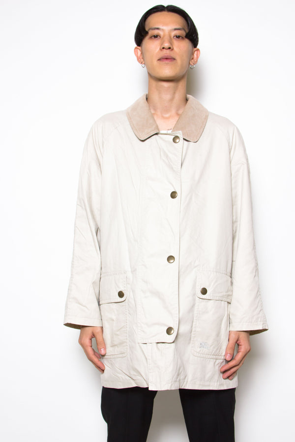 Vintage 80s Burberry Beige Trench Coat - The Black Market