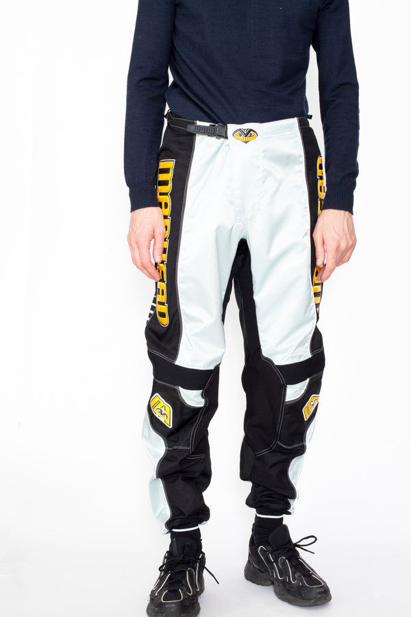 Vintage 90s Mad Head Motocross Trousers - The Black Market