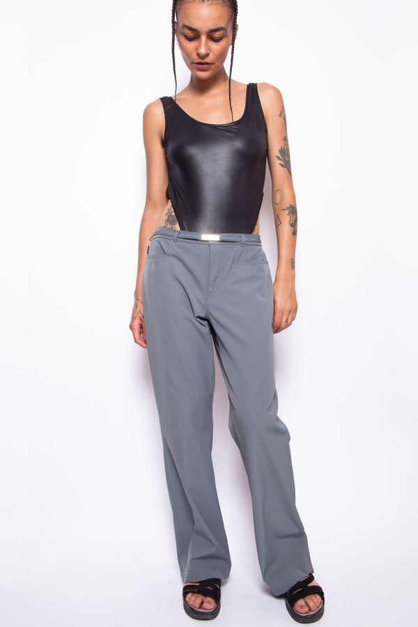 Vintage 90s Moschino Work Trousers - The Black Market