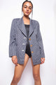 Vintage 80s Ferre Striped Blazer Jacket