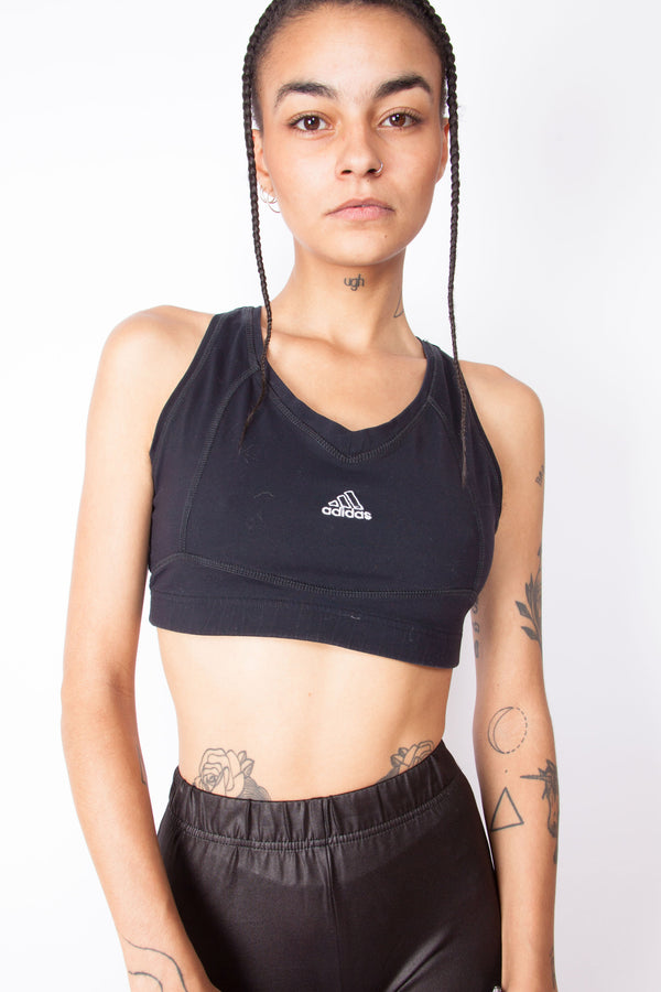 Vintage 90s Adidas Sports Bra - The Black Market