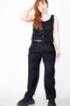 Vintage 80s Black Work Trousers