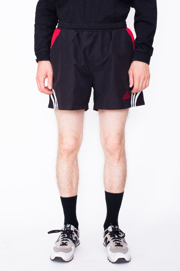 Vintage 90s Adidas Running Shorts - The Black Market