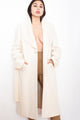 Vintage 90s Cream Wool Coat