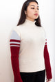 Vintage 90s Sergio Tacchini Wool Turtleneck Sweater