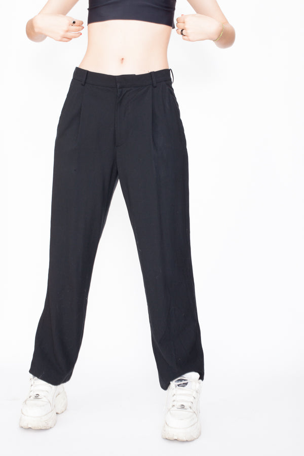 Vintage 80s Gianni Versace Work Trousers - The Black Market