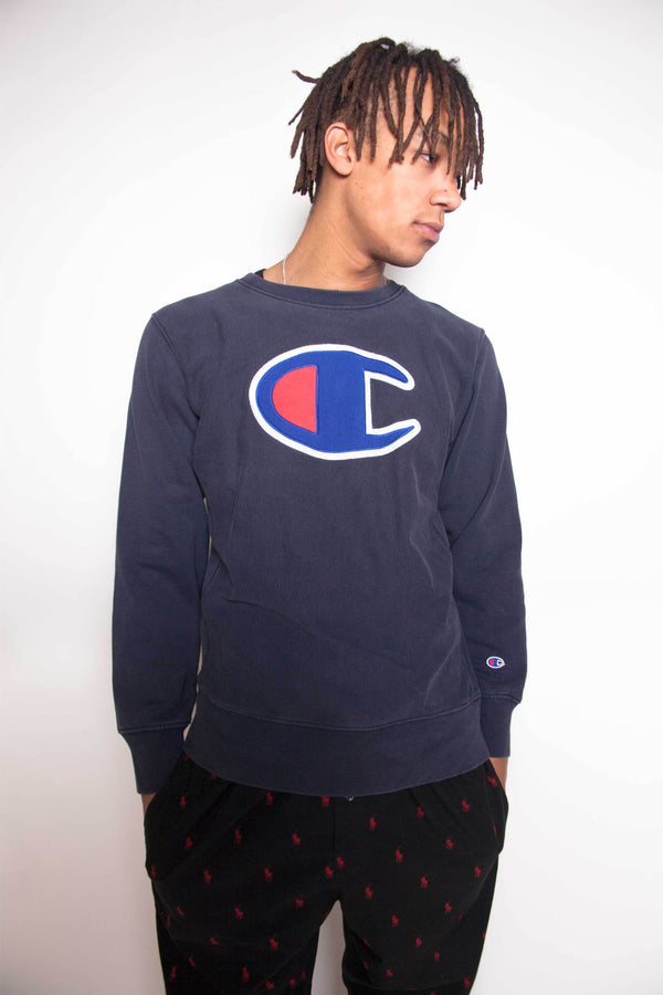 Vintage 90s Champion Big Logo Sweatshirt