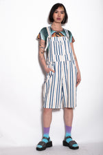 Vintage Levi's Striped Short Dungarees