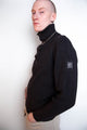 Vintage 90s Belstaff Wool Ribbed Polo Jumper
