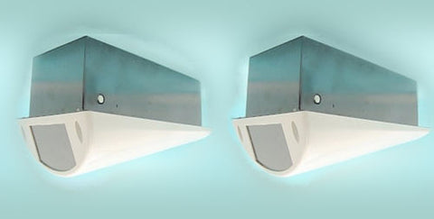 Pack of 2 Indoor Ceiling Camera Housing - smart security club  - 1