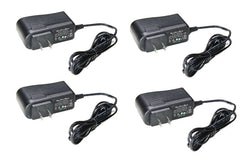 Pack of 4 Power Adapters 12V DC 500mA - smart security club