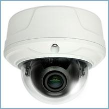 D-max , DMC-30DVZW -Vandal Dome 3 Mega Pixel IP Camera with D 2.8-12mm Motorized Lens. Made in Korea.