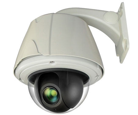 2 Megapixel IP 20x Outdoor PTZ Dome Camera - smart security club  - 1
