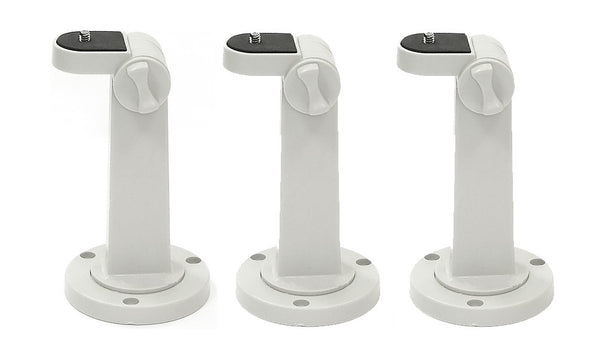 Pack of 3 Mounting Brackets for CCTV Camera - smart security club