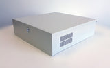 DVR lock-box 18 x 18 x 5 inch in ivory color - smart security club  - 1