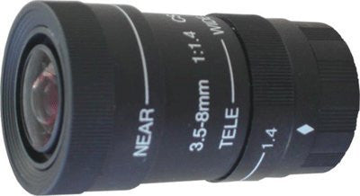 3~8mm Vari-Focal Manual Iris Lens - smart security club