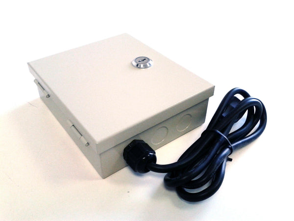9ch DC 12V CCTV Mini Power Distributor Box - smart security club  - 1