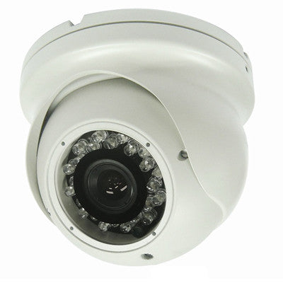 Analog Outdoor IR Dome Camera, 600 TV Lines, 4~9mm Varifocal Lens - smart security club
