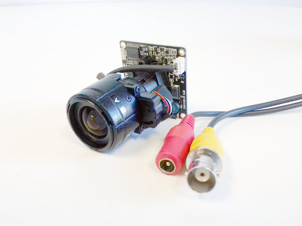 "CCTV camera module, 600 TV lines, 1/3"" Sony Super HAD CCD, Made in Korea - smart security club  - 1"