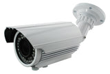 2 megapixel IR bullet camera with 2.8~12mm motorized varifocal lens - smart security club  - 1