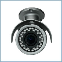 D-max, DMC-5036BZW - WEATHER PROOF BULLET 5 MEGA PIXEL IP CAMERA WITH D. 3.6-11MM MOTORIZED LENS. MADE IN KOREA