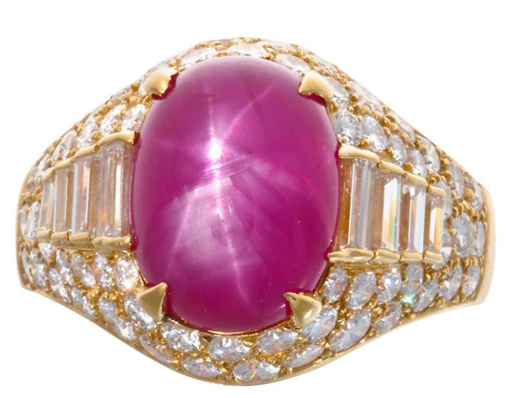 Bulgari Trombino Star Ruby ring