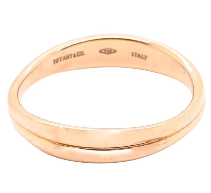 tiffany & Co curved band