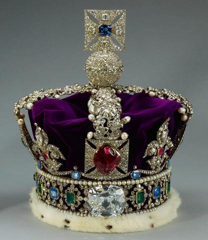 Black Prince's Ruby Spinel Crown