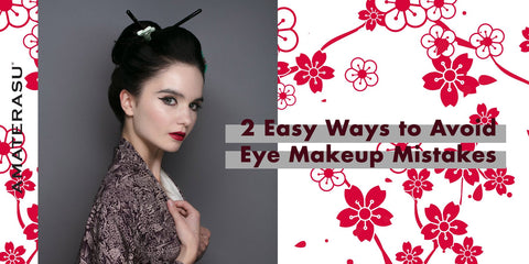 How to Avoid These 2 Common Eye Makeup Mistakes Amaterasu Beauty Paraben Free