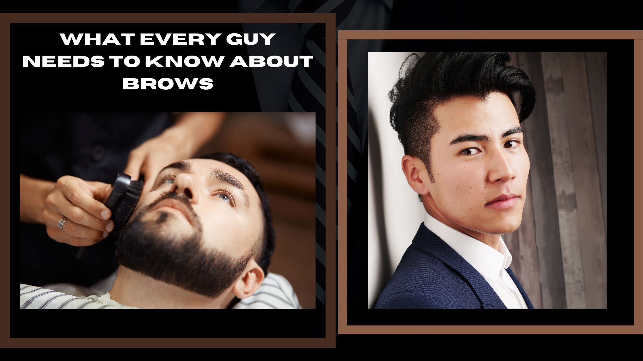 What every guy needs to know about brows and brow makeup Amaterasu Beauty
