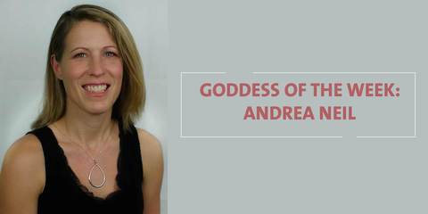 Goddess Andrea Neil four times FIFA Soccer Player Coach poses for Amaterasu Beauty